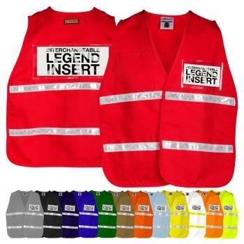 ML Kishigo 3702/3713 HiVis Incident Command Safety Vest