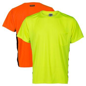 Kishigo 9200/9201 Black Series Microfiber Short Sleeve T-Shirt