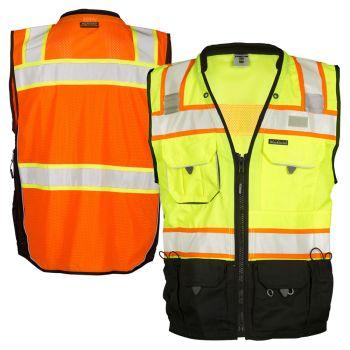 ML Kishigo S5002/S5003 Black Series Class 2 Surveyors Safety Vest
