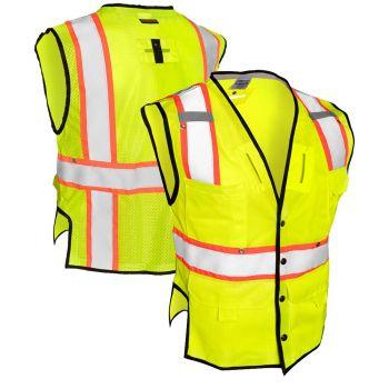 ML Kishigo T341 Class 2 Fall Protection Safety Vest