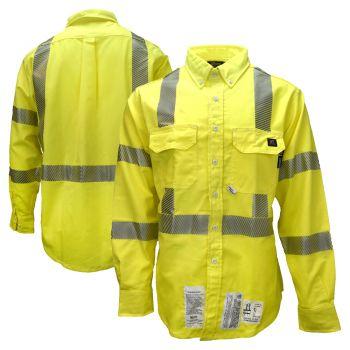 Neese VU7SH3 Class 3 HiVis FR CAT 2 Button Down Safety Shirt