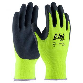 PIP 55-AG317 G-Tek Lite Hi-Vis Latex Coated Gloves - 12 Pack