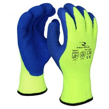 Radians RWG27 Cut Level A3 Dipped Winter Gripper Glove