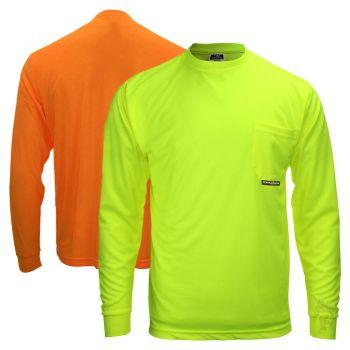 Radians ST21-N Max-Dri Non-ANSI Long Sleeve T-Shirt