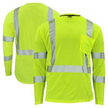Radians ST31-3 Arctic Radwear Class 3 HiVis Segmented Long Sleeve Cooling Safety T-Shirt | Parent