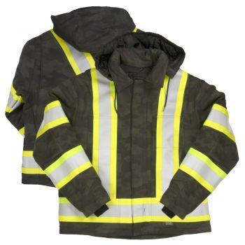 Tough Duck Class 1 Camo Flex Duck Safety Jacket
