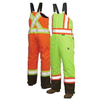 Work King S798 Class 2 Thermal HiVis Safety Bib Overalls