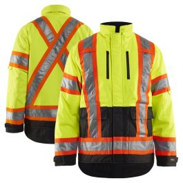 Blaklader 4928 Class 3 Hivis Quilt Lined Safety Jacket