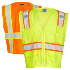 ML Kishigo 1195/1196 Hi Vis Class 2 Ultra-Cool Mesh Safety Vest