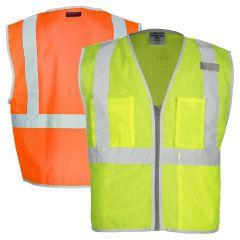Kishigo 1507/1508 Brilliant Series Class 2 Economy Safety Vest