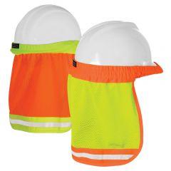 ML Kishigo 2810 Hard Hat Sun Shield | Lime