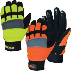 3A Safety G5100/G5101 Warrior HiVis Mechanic Gloves