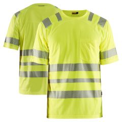 Blaklader 3490 High Visibility Class 3 Short Sleeved T-Shirt