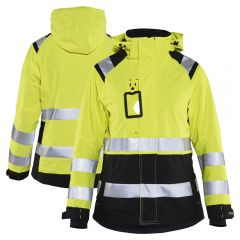 Blaklader 4904 Class 2 Ladies Hi Vis Shell Jacket