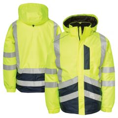 CAT 1310051 Class 3 Storm Blocker Plus Insulated Rain Jacket