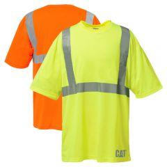 CAT 1510232 Class 2 Moisture Control Comfort Short Sleeve T-Shirt