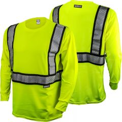 DeWALT DST921 ANSI Class 2 Flame Resistant Long Sleeve Safety Shirt