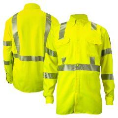 DRIFIRE 324LS Class 3 HRC 2 FR Segmented Button Down Long Sleeve Utility Shirt