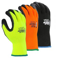 Polar Penguin Foam Latex Dipped HeavyWeight Napped Terry Winter Gloves