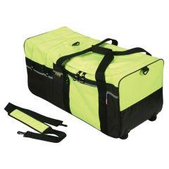Enhanced Visibility Large Wheel Turnout Gear Bag Lime