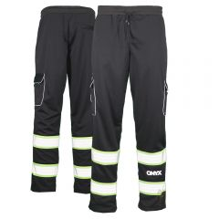 GSS Safety 8717 Onyx Series Enhanced Visiblity Teflon Sweat Pants