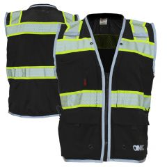 GSS Safety 1513 Onyx Series Enhanced Visibility Ripstop Surveyors Vest