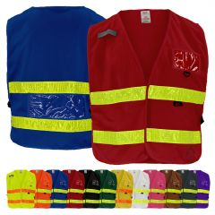 GSS Safety 3100 Series Enhanced Visibility Identification Safety Vest