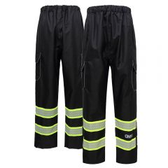 GSS Safety 6713 Onyx Enhanced Visibility Safety Pants w/ Teflon Coating