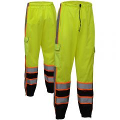 GSS Safety 3807 Class E Premium Mesh Pants w/ Cargo Pockets