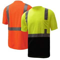 GSS Safety 5111/5112 Class 2 Black Bottom T-shirt
