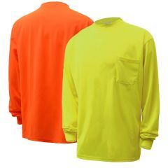 GSS Safety 5503-5504 Hi-Vis Safety Long Sleeve Shirt