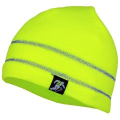 HiVis Supply AH1004 Arctic Series Fleece Lined 3M Reflective Knit Beanie