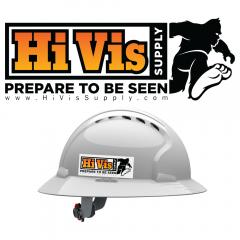 HiVis Logo 991183 Hard Hat Sticker