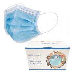 Kids 3-Ply Disposable Mask | 50-Pack