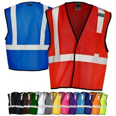 ML Kishigo B120/B131 Economy Series Enhanced Visibility Mesh Identification Vest