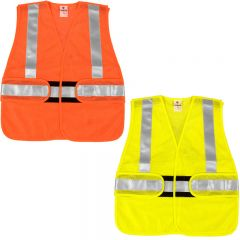 ML Kishigo FM411 / 412 FR Treated Mesh Class 2 Adjustable Vest