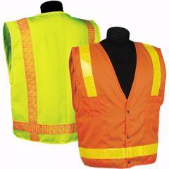Kishigo 1095/1099 Hydrowick Lite 8-Pocket Surveyors Vests