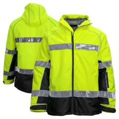 ML Kishigo JS152 Class 3 Brilliant Series Oralite 360 Pro Safety Parka
