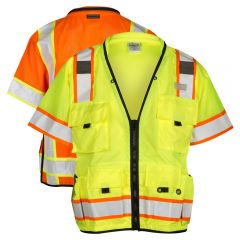ML Kishigo S5010/S5011 Class 3 Professional Surveyors Safety Vest