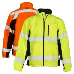 ML Kishigo WB100/WB101 Black Series Class 3 HiVis Windbreaker