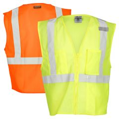 Kishigo 1085 Ultra-Cool ANSI 2 Mesh 3-Pocket Safety Vest