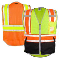 ML Kishigo 1543/1544 Brilliant Series Class 2 Ultimate Reflective Vest