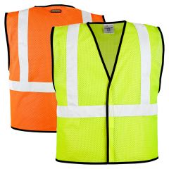 ML Kishigo 1571/1572 Class 2 Economy Mesh Safety Vest
