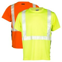 ML Kishigo 9114/9115 Black Series Class 2 HIgh Visibility T-Shirts