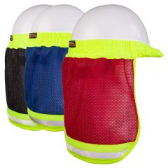 Kishigo B10/B12 Enhanced Visibility Series Hard Hat Sun Shield