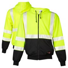 ML Kishigo F407 Black Series Class 3 FR HiVis Sweatshirt HRC-2