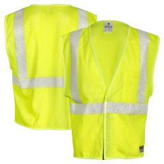 ML Kishigo FM389 Class 2 Breathable FR Safety Vest HRC-1