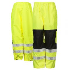 ML Kishigo RWP112 Brilliant Series Class E HiVis Rain Pants
