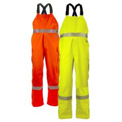 National Safety Apparel HYDROFLASH FR Class E HRC 3 Gore-Tex Foul Weather Safety Bib