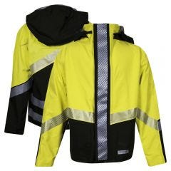 National Safety Apparel Hydrolite Class 3 30 Inch FR Rainwear Bomber